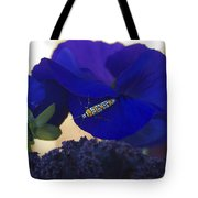 Insect On Flower Tote Bag