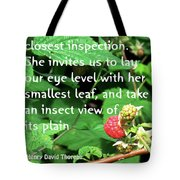 Insect View Tote Bag