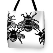 Insects: Bees Tote Bag
