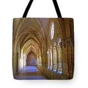 Inside A Monastery  Tote Bag