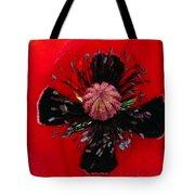 Inside A Poppy Tote Bag