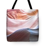 Inside Lower Antelope Canyon Tote Bag