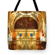 Inside St Louis Cathedral Jackson Square French Quarter New Orleans Digital Art Tote Bag