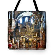Inside The Church Tote Bag