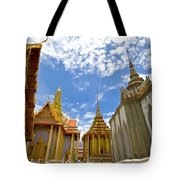 Inside The Grand Palace Bangkok Tote Bag