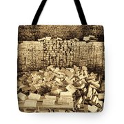 Inside The Historical Brick Kiln Decatur Alabama Usa Tote Bag