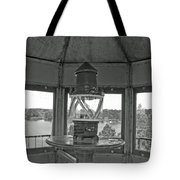 Inside The Lighthouse Tower. Uostadvaris. Lithuania. Tote Bag