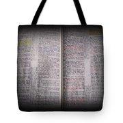 Inspirations 16 John 1 V14 Tote Bag