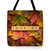 Inspire-autumn Tote Bag