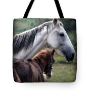 Instinct Of Love Tote Bag by Karen Wiles