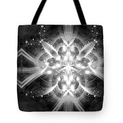 Intelligent Design Bw 1 Tote Bag by Angelina Vick