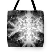Intelligent Design Bw 2 Tote Bag by Angelina Vick