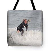 Intense Surfer Tote Bag
