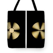 Interference Patterns Tote Bag