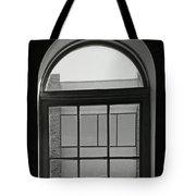 Interior - Windows In Black And White Tote Bag