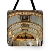 Interior Of Union Pacific Railroad Depot - Salt Lake City Tote Bag