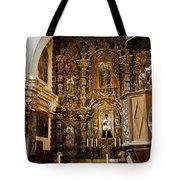 Interior San Xavier Mission Tote Bag
