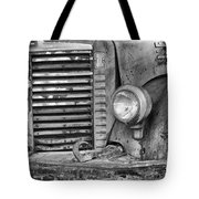 International Truck Black And White Tote Bag