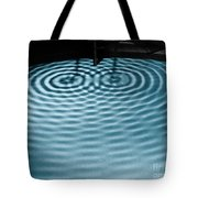 Intersecting Ripples Tote Bag