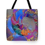 Into The Inner World Tote Bag