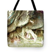 Into The Light Elves Tote Bag