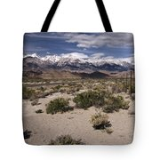 Into The Sierras Tote Bag