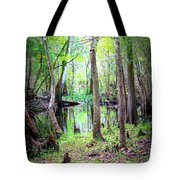 Into The Swamp Tote Bag