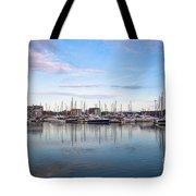 Ipswich Marina Dusk Tote Bag