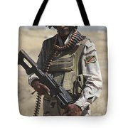 Iraqi Army Soldier Tote Bag