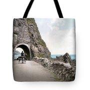 Ireland: Black Cave Tunnel Tote Bag