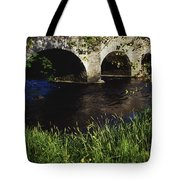 Ireland Bridge Over Water Tote Bag