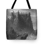 Ireland: Dunluce Castle Tote Bag