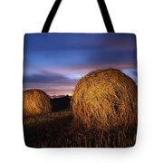 Ireland Hay Bales Tote Bag
