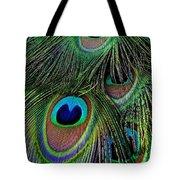Iridescent Eyes Tote Bag