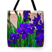 Iris 23 Tote Bag by Pamela Cooper