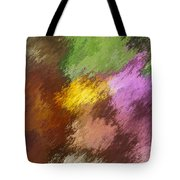 Iris Abstract II Tote Bag