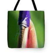 Iris Bud 1 Tote Bag