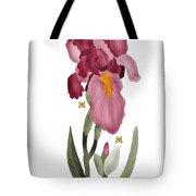 Iris II In Full Color Tote Bag