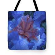 Iris Oil Painting Tote Bag