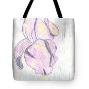 Iris Sketch Tote Bag