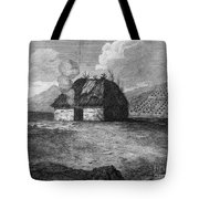 Irish Cabin, 18th Century Tote Bag
