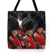 Irish Guards March Pass During The Last Tote Bag
