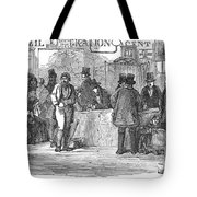 Irish Immigrants, 1851 Tote Bag