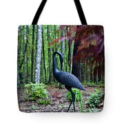 Iron Crane Poses 1 Tote Bag