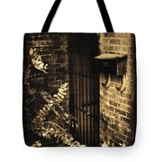 Iron Door Sepia Tote Bag