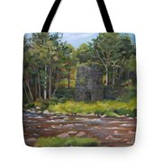 Iron Furnace Of Franconia New Hampshire Tote Bag