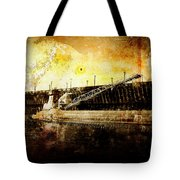 Iron Ore Freighter Tote Bag
