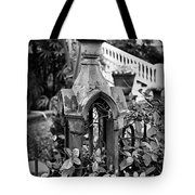 Iron Post Detail Tote Bag by Perry Webster