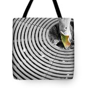 Iron Ripples Tote Bag