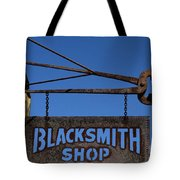 Iron Signage Tote Bag